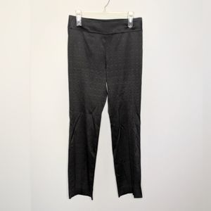WORTH NY Black Hexagon Luxury Dress Pants